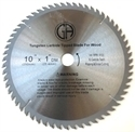 Picture of TCP1  10-in. - 60 Tooth - TCT WOOD Saw Blade