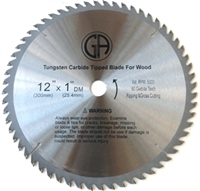 Picture of TCP5  12IN 60 Tooth TCT WOOD Saw Blade, Heavy Duty