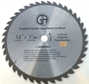 "Picture of TC204   12"" 40 TOOTH Carbide Tipped Saw Blade for WOOD"