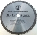 Picture of TCP3  10-in. - 100 Tooth - Tungsten Carbide Tipped WOOD Saw Blade, Heavy Duty, Professional Quality