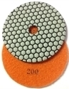 Picture of DPP27  5IN Diamond Polishing Pad DRY - 200 GRIT