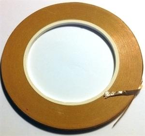 """Picture of FF1S  5/32"""" x 100' Silver Copper Foil 1.25 mil"""