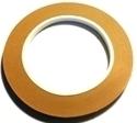 """Picture of FF4S  1/4"""" x 100' Silver Copper Foil 1.25 mil"""
