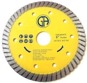 Picture of DB3763HP 5IN Hot-Pressed Turbo Blade for Granite