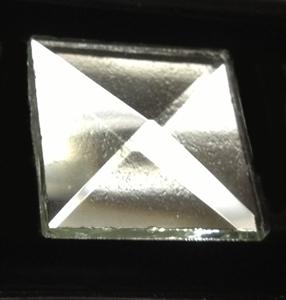 "1"" x 1"" Square Pyramid Bevel"