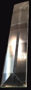 """Picture of B15 1"""" x 5"""" Rectangle Pyramid Bevel"""