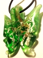 Picture of GP36 Hand Made Murano Fused Glass Jewerly-Butterfly