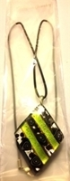 Picture of GP54 Hand Made Murano Fused Glass Jewerly-Triangle