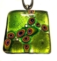 Picture of GP48 Hand Made Murano Fused Glass Jewerly-Square