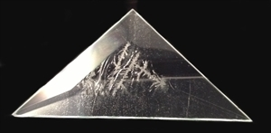 Picture of B334TG  3x3x4.25 Triangle Glue Chip Bevels