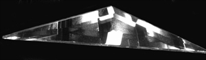 Picture of B47SD  1/2 of a 4 X 7  Diamond bevel