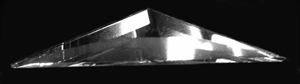 Picture of B35SD 1/2 of a 3 X 5 Diamond bevel