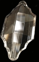 Picture of P32A  63x30mm Crystal Leaf