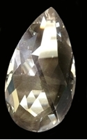 Picture of P10C  50x29mm Faceted Drop Crystals
