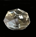 Picture of P1O  38 mm crystal octagon