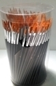 Picture of ART253  pony hair paint brush 144pcs round style and flat style