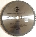 "Picture of TCP33 10"" 60T Carbide Saw Blade for STEEL"