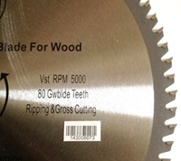 Picture of TCP6  12-in. - 80 Tooth - TCT WOOD Saw Blade, Heavy Duty