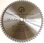 Picture of 1 - 14-in 60 Tooth Carbide Saw Blade for WOOD with NAILS