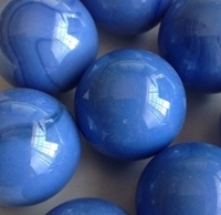 Picture of M262 25MM Opal Blue Shiny Glass Marbles