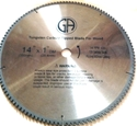 Picture of TCP11  14-in. - 100 Tooth - Tungsten Carbide Tipped WOOD Saw Blade, Heavy Duty, Professional Quality