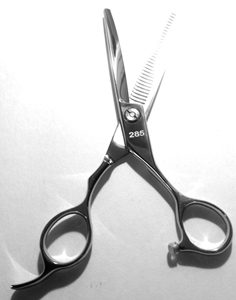 Picture of TS4  Professional Hair Thinning Shears apprx. lenght=6.25-in. blade=2.75-in