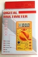 Picture of DT830D  Digital Multimeter, 5x2.5x 1-in. 9v Battery Included