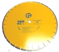 Picture of DW73 18IN Silver Brazed Segmented Saw Blade for Marble