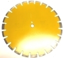 Picture of DW119  16IN Asphalt and Green Concrete Premium series High Speed Diamond Blades for Abrasive Materials