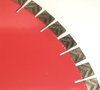Picture of DL311  16 5/8 in Segmented Laser Welded Saw Blade for GRANITE