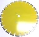 Picture of DL16A 16in Laser Welded Blade for ASPHALT 1in Arbor