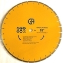 Picture of DL644  18IN Segmented laser welded saw blade for GENERAL PURPOSE