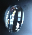 Picture of P881D 76mm Crystal Oval Pendant 1 hole