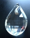 Picture of P885C 76mm Faceted crystal drop with top hole mount