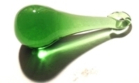Picture of P124 50mm Green Raindrop Crystals