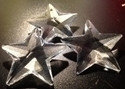 Picture of P41C  40mm Crystal Clear Star Pendant with mounting hole