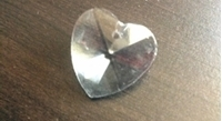 Picture of P22B  18mm crystal heart