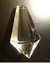 Picture of P44C  76MM  clear Ice Crystal with one mounting hole