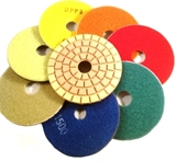 Polishing Pads, Adapters and Grinder Cups