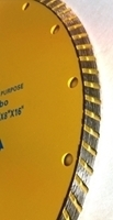"""Picture of DB3770  9""""  Turbo, saw blade for General  purpose 5/8"""" arbor"""