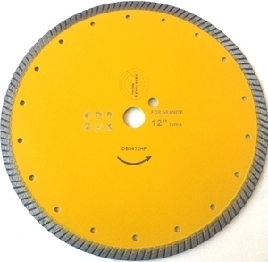 Picture of DB3412HP  12IN Hot Pressed sintered turbo saw blade
