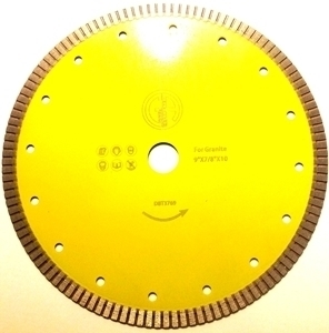 Picture of DBT3769  9IN Super Thin Saw Blade for Granite, 7/8- 5/8' arbor