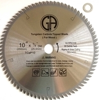 Picture of TC10P 10-in. 80 Tooth - Industrial  Saw Blade for WOOD