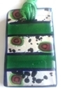 Picture of GP11 Hand Made Murano Fused Glass Jewerly-Rectangle