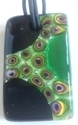 Picture of GP17 Hand Made Murano Fused Glass Jewerly-Rectangle