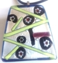 Picture of GP25 Hand Made Murano Fused Glass Jewerly