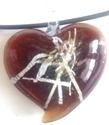 Picture of GP29 Hand Made Murano Fused Glass Jewerly-Heart A-1