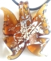 Picture of GP33 Hand Made Murano Fused Glass Jewerly-Butterfly