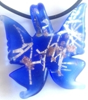 Picture of GP38 Hand Made Murano Fused Glass Jewerly-Butterfly