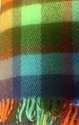 "Picture of WT2 Wool Throw Blanket 100% New Zealand Wool Multi 55"" x 80"" Kilppan Saule"